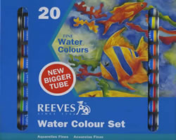 Reeves 20-22ml Watercolor Tube Set