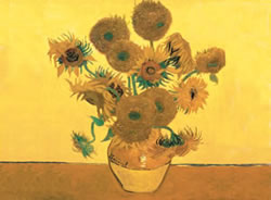 Sunflowers Reeves Artists Collection Paint by Number