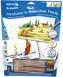 Introduction to watercolour pencils