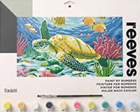 Reeves Senior Acrylic Paint by Number - Sea Turtle