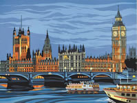 Houses of Parliament Paint by Number