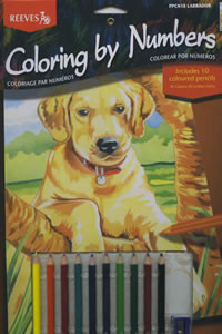 Reeves Coloring by Number