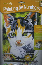 Kitten Medium Paint by Number Set