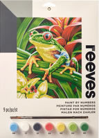 Tree Frog, Reeves Junior Paint by Number