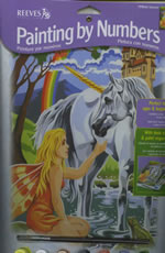 Unicorn Medium Paint by Number Set