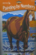 Pony Medium Paint by Number Set