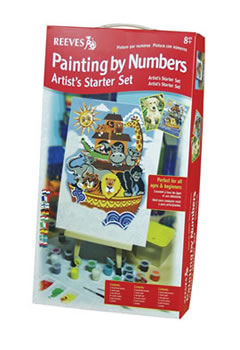 Reeves Artist's Painting by Numbers Starter Set
