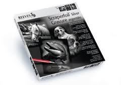 Reeves Scraperfoil Silver Gift Set
