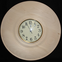 "16"" Clock Plate with Bead"