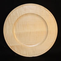 "10"" Outside Beaded Rim - Natural Finish"