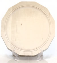 Unfinished Basswood Wooden Plates Great For Decorative