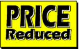 price reduced