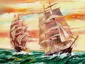 Sailing Ships Paint by Numbers